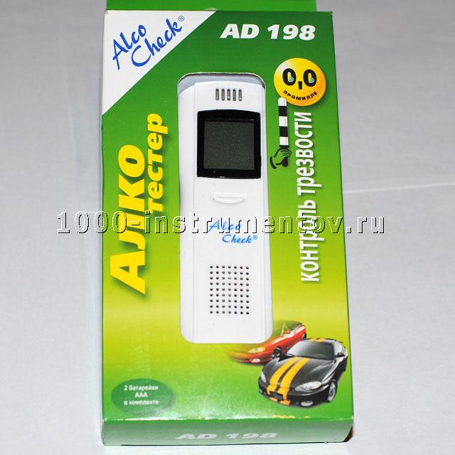 Алкотестер Alco Check AD 198