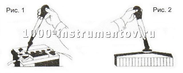 На рисунке 1 - измерение плотности электролита, на рисунке 2 - измерение плотности тосола