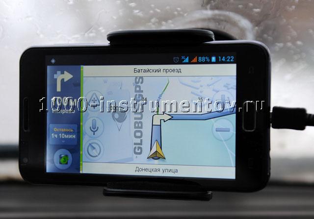 Яндекс навигация на Globus GL-900