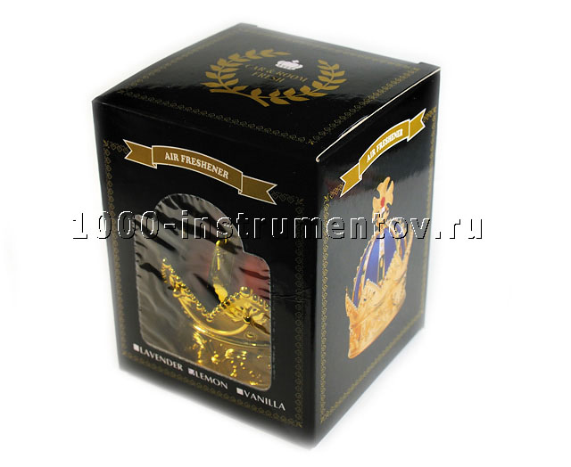 Ароматизатор Шапка Мономаха - Корона в упаковке