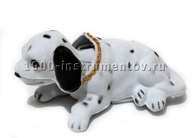 Сувенир в автомобиль собака, качающая головой