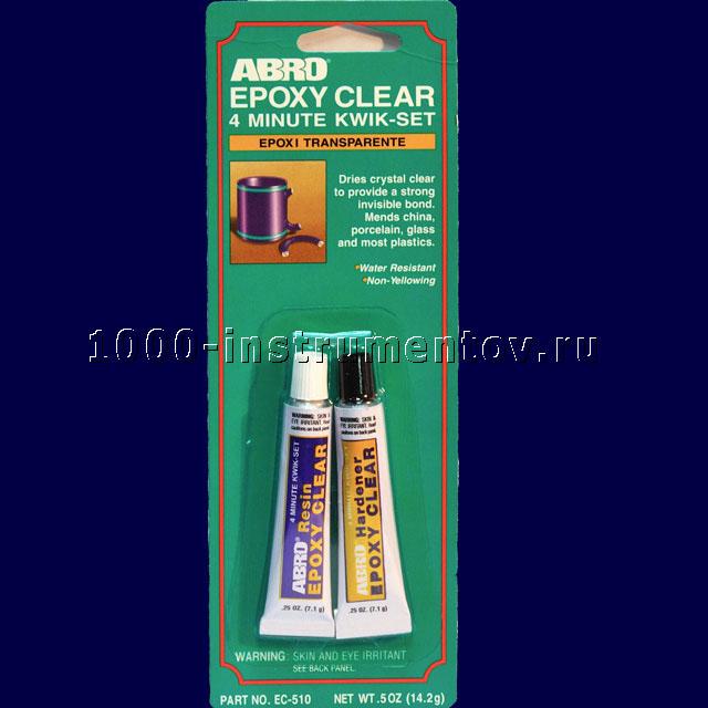 Клей эпоксидный Abro прозрачный 14,2гр ES-510