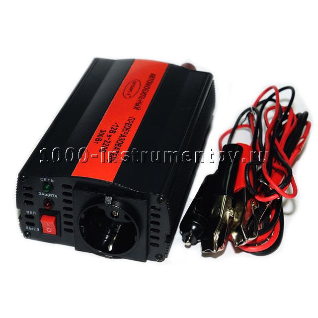 Автомобильный преобразователь напряжения Ситлайт-К 12-220 В 300 Вт