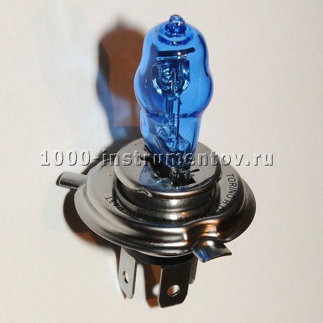 Лампа газонаполненная галогенная H4 5500K Max Power
