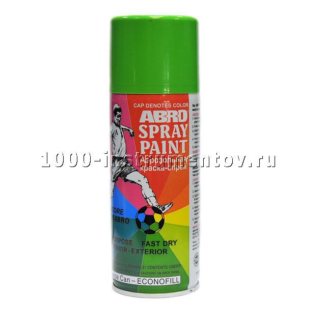 Краска спрей светло-зеленая А-045 Abro