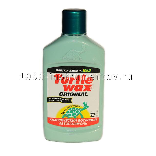 Автополироль восковый классический Turtle Wax