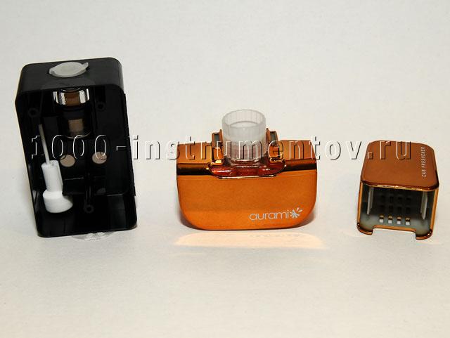 Подготовка ароматизатора AURAMI к применению