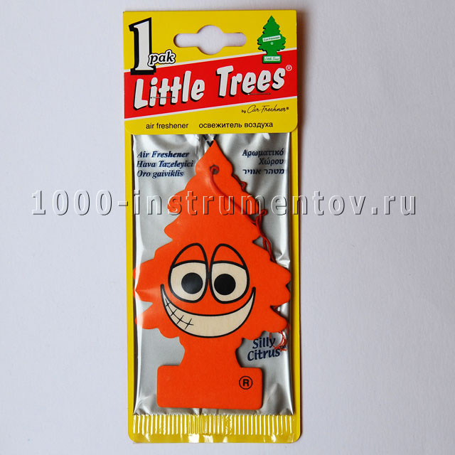 Ароматизатор елочка Little Trees апельсин