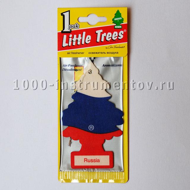 Ароматизатор елочка Little Trees флаг России