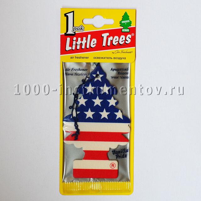 Ароматизатор елочка Little Trees флаг США