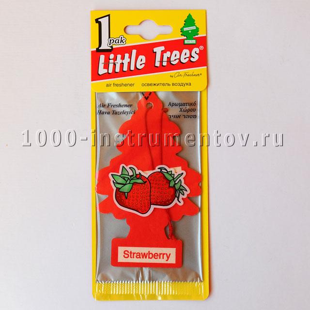 Ароматизатор елочка Little Trees клубника
