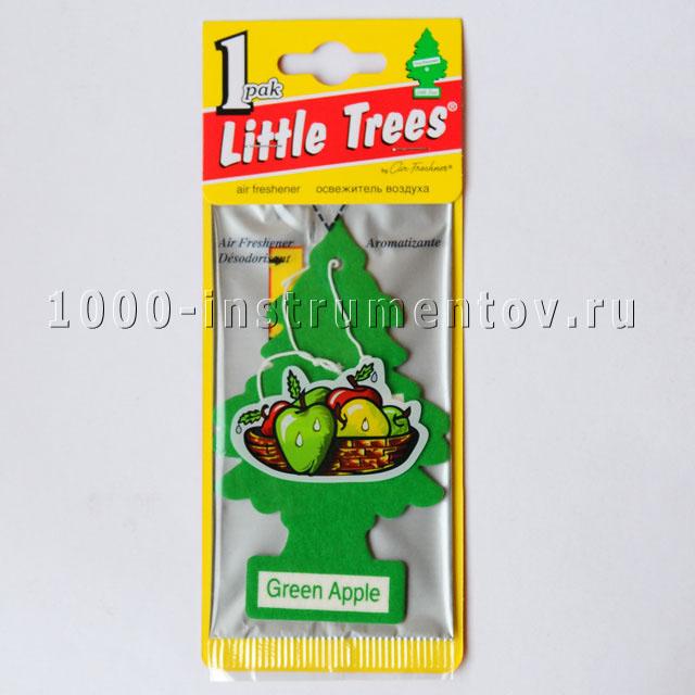 Ароматизатор елочка Little Trees зеленое яблоко